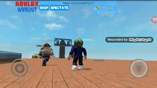Roblox wipe out gameplay with cutepuppy453 ( ep2 p1 of 2 s1)