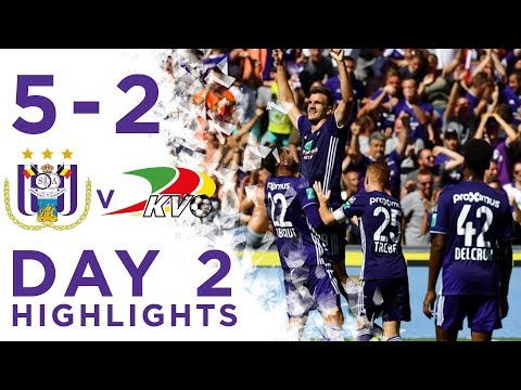 Highlights of the win (5-2) against KV Oostende