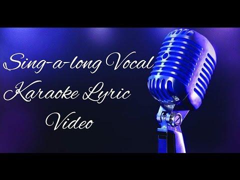 Whitey Morgan - Me and the Whiskey (Sing-a-long Karaoke Lyric Video)