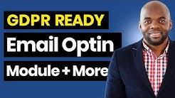 Divi email optin module