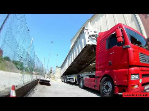 ♦Truckers' day♦ MAN TGA 440 - Slovenia to Pordenone (ITA) and back to Slovenia
