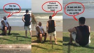 Na praia com os Brothers Rocha
