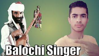 Balochi Singer