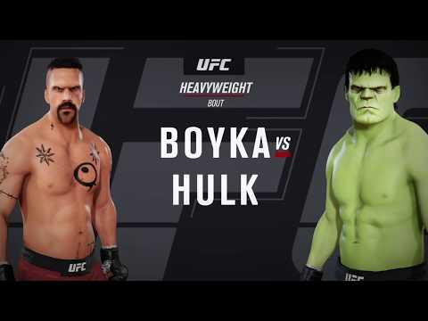 Yuri Boyka Vs. Hulk (EA Sports UFC 3) - CPU Vs. CPU