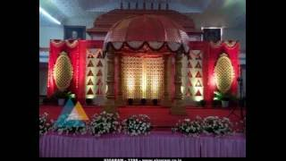 Wedding Stage Decoration At Anandha Mandapam, Pondicherry