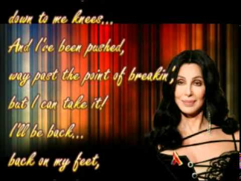 CHER - You Haven't Seen The Last Of Me (with Lyrics)