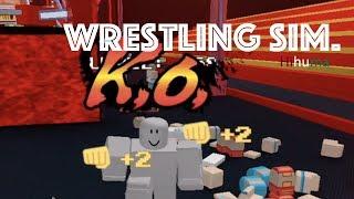 I'll get My Revenge... (Roblox - Wrestling Sim)