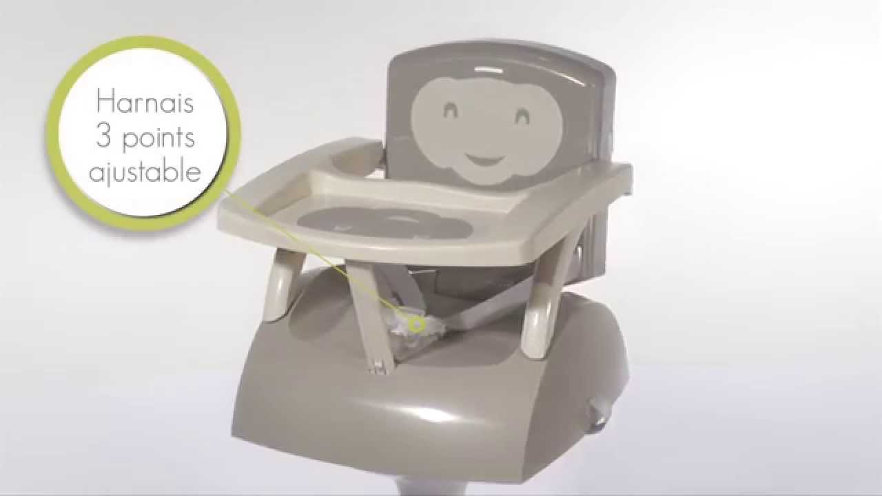 Le rehausseur de chaise thermobaby youtube - Rehausseur de chaise tomy ...