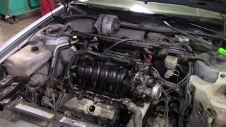 3.8L Exploded Intake Manifold Plenum Replacement