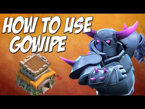 Clash of Clans: Gowipe Attack Strategy TH8 - 3 Star Tutorial