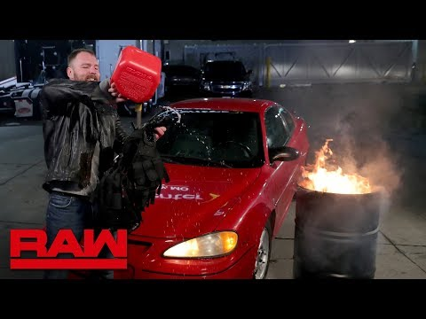 Dean Ambrose Sets His Shield Vest On Fire: Raw, Nov. 12, 2018