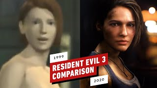 Resident Evil 3 Comparison: Remake vs. Original (1999)