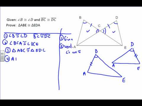 Triangle Proof Example 5 - YouTube