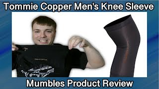 Tommie Copper Core Compression Knee Sleeve - Does it work? - MumblesVideos Product Review