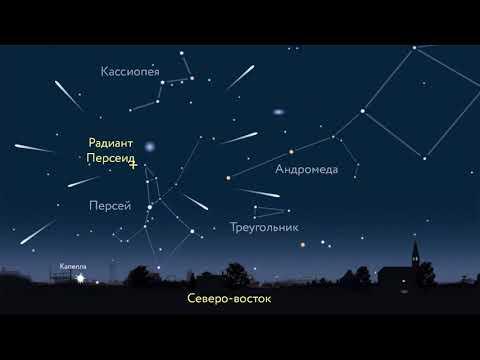 Метеорный поток Персеиды и августовское небо (рассказывает Карлис Берзиньш)