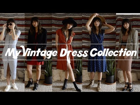 My Vintage Dress Collection & How I Style Them