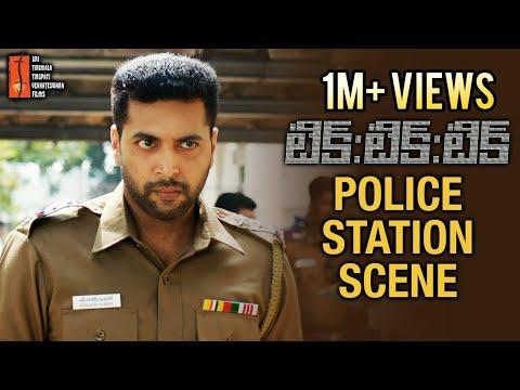 TIK TIK TIK Movie Best Scenes | Jayam Ravi Police Station Scene | Nivetha Pethuraj | STTV Films