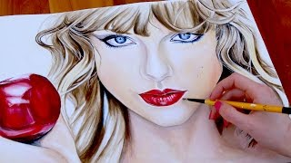 TAYLOR SWIFT Blank Space PAINTING