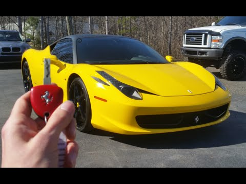 2011 Ferrari 458 Italia: Start Up, Exhaust, Test Drive And Review