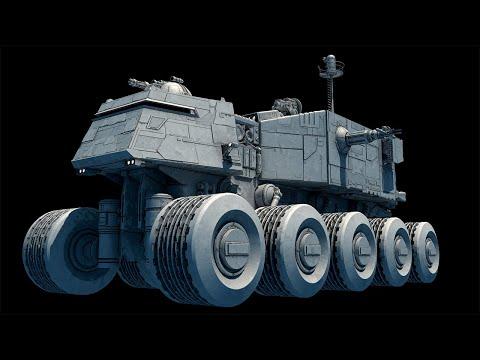 Джаггернаут - колесный титан Армии Клонов и Галактической Империи