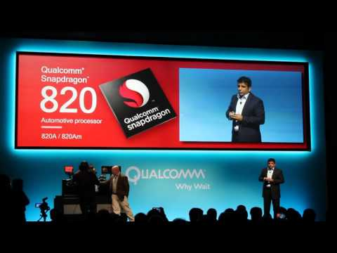 Qualcomm Snapdragon 820 Automotive Demo