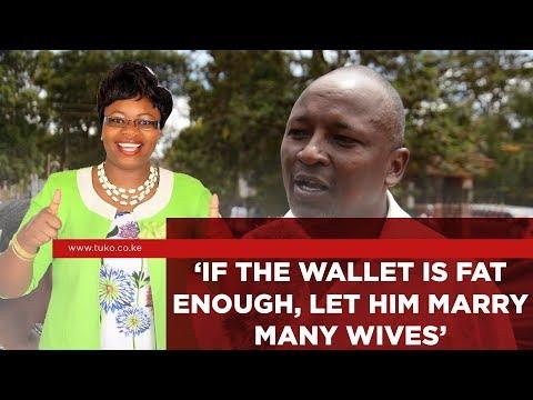 Residents of Central Kenya React to Gathoni Wa Muchomba&39;s Polygamy  TUKO TV