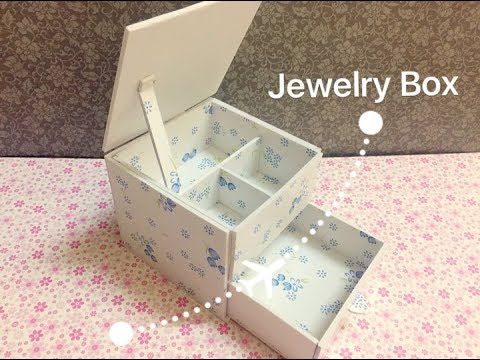 Simple DIY | Craft - How to Make Jewelry Box - Jewelry Box
