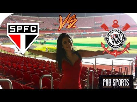 São Paulo 1x1 Corinthians - Melhores momentos Vlog Pub Sports Bar !