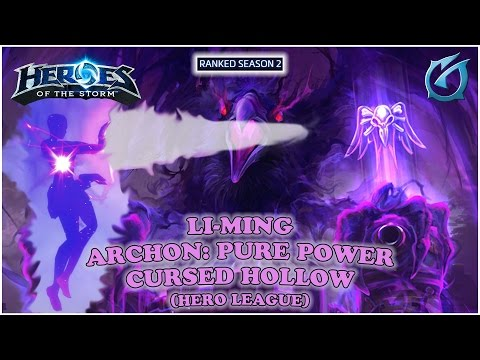 Grubby | Heroes of the Storm | Li-Ming - Archon: Pure Power - HL S2 - Cursed Hollow