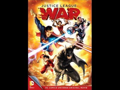TRAILER-Justice League: War Review