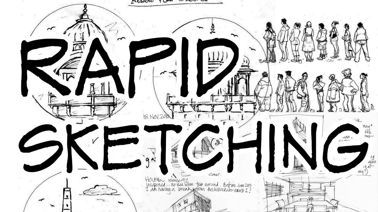 rapid sketching architecture daily sketches youtube