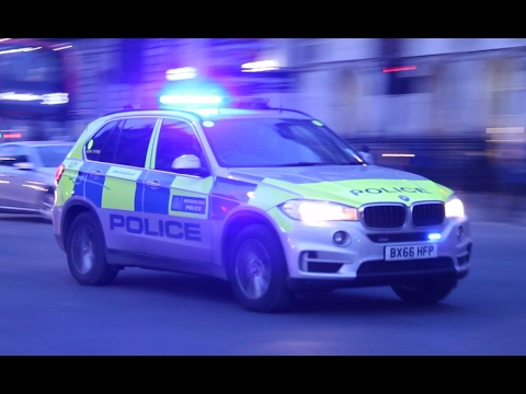 Armed Response Vehicles respond to serious incident in London