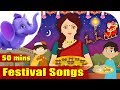 Festival Songs for Kids - Learn about Festivals