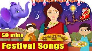 Festival Songs for Kids - Learn about Festivals
