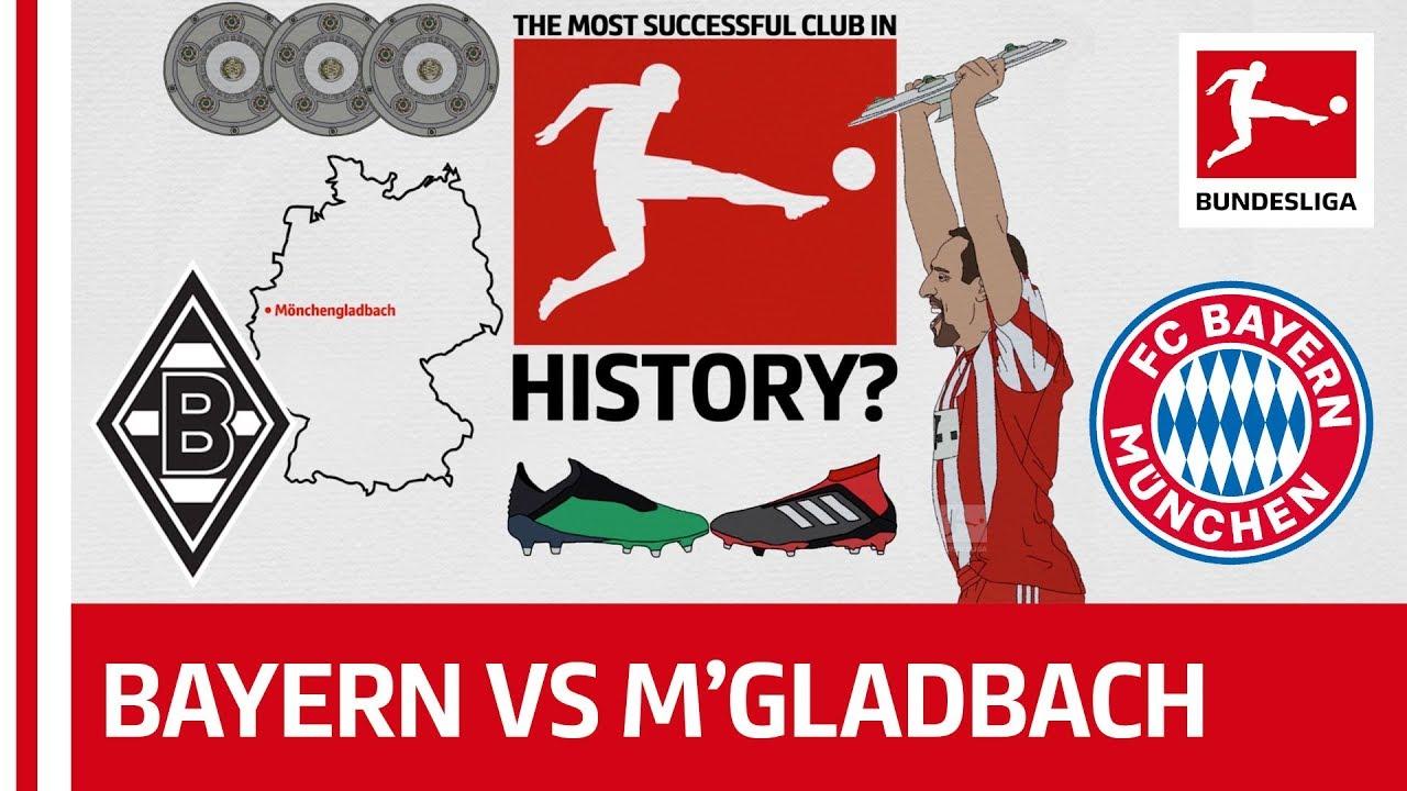 Fc Bayern Munchen Vs Borussia Monchengladbach Rivalry Reborn Powered By Tifo Football Youtube