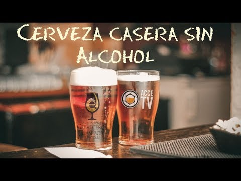 Cerveza artesanal sin alcohol receta