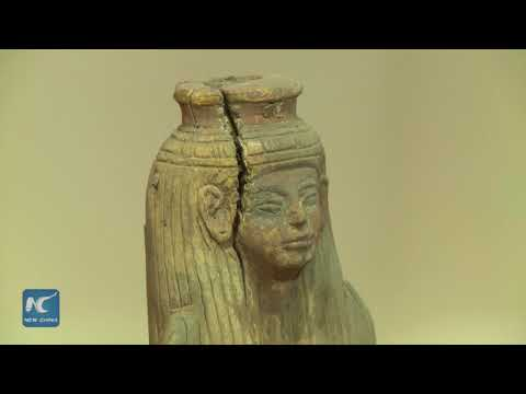 3,000 year old Deir Al Medina artifacts on display at Egyptian Museum
