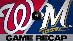 5/7/19: Brewers rally for 6-run 7th inning, beat Nats
