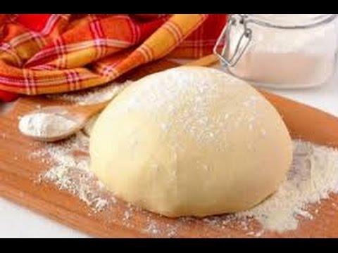 Классический рецепт дрожжевого теста/ Как замесить дрожжевое тесто/ Дрожжевое тесто на воде.
