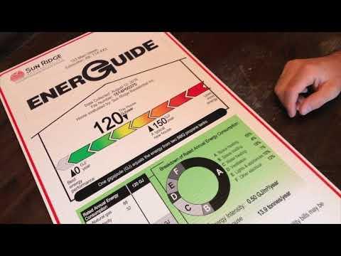 Top 10 Energy Efficiency Tips - EnerGuide label explained