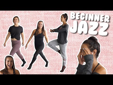 Basic Jazz Moves For Beginners I @MissAuti