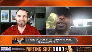 Marquis Brewster talks CES 46 fight, Layoff and fighting on the Contender Series