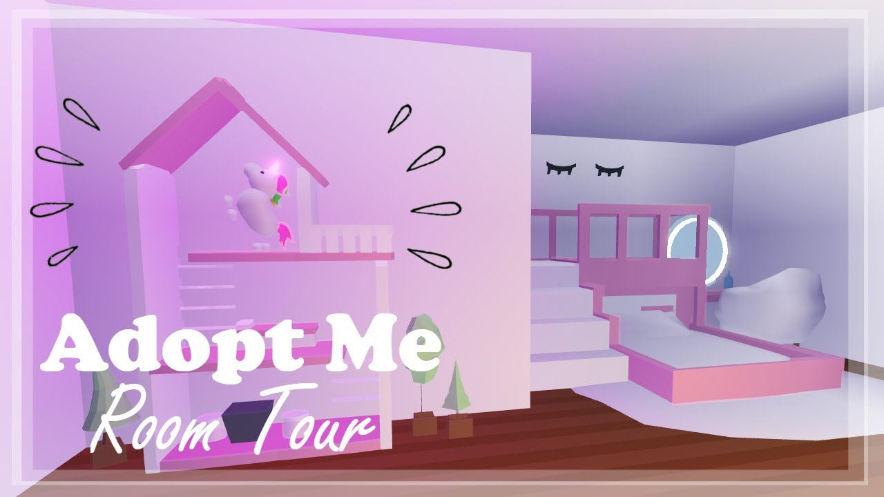 Photo To Furniture 3 - Adopt Me Girly Bedroom Tour 🦄🎀 - YouTube