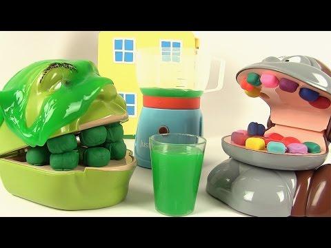 Shrek et le Singe boivent du Slime Ensemble Mélangeur de Luxe