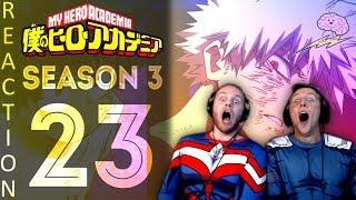 SOS Bros React - My Hero Academia Season 3 Episode 23 - Deku vs Bakugo!!