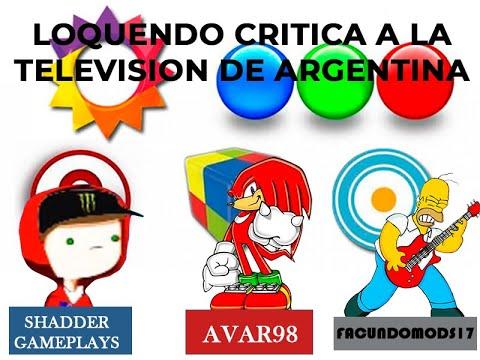 Loquendo Critica a la Television de Argentina (con 2 usuarios) Parte 1