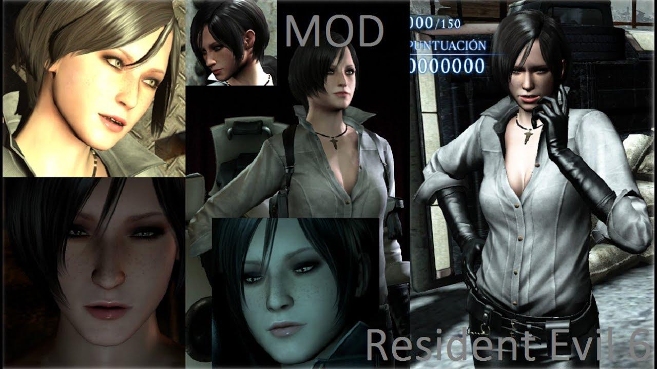 Resident Evil 6 Mod Ada Grey White Youtube