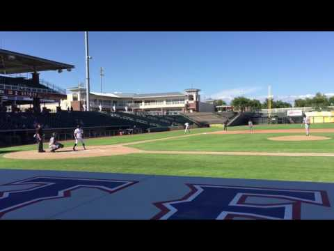 Corey Toups Home Run Arizona Fall League