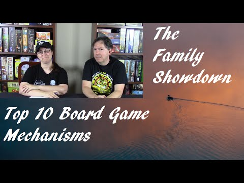 Top 10 Board Game Mechanisms