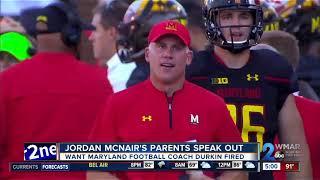 Jordan McNair's parents speak out